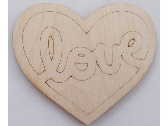 Καρδιά με love